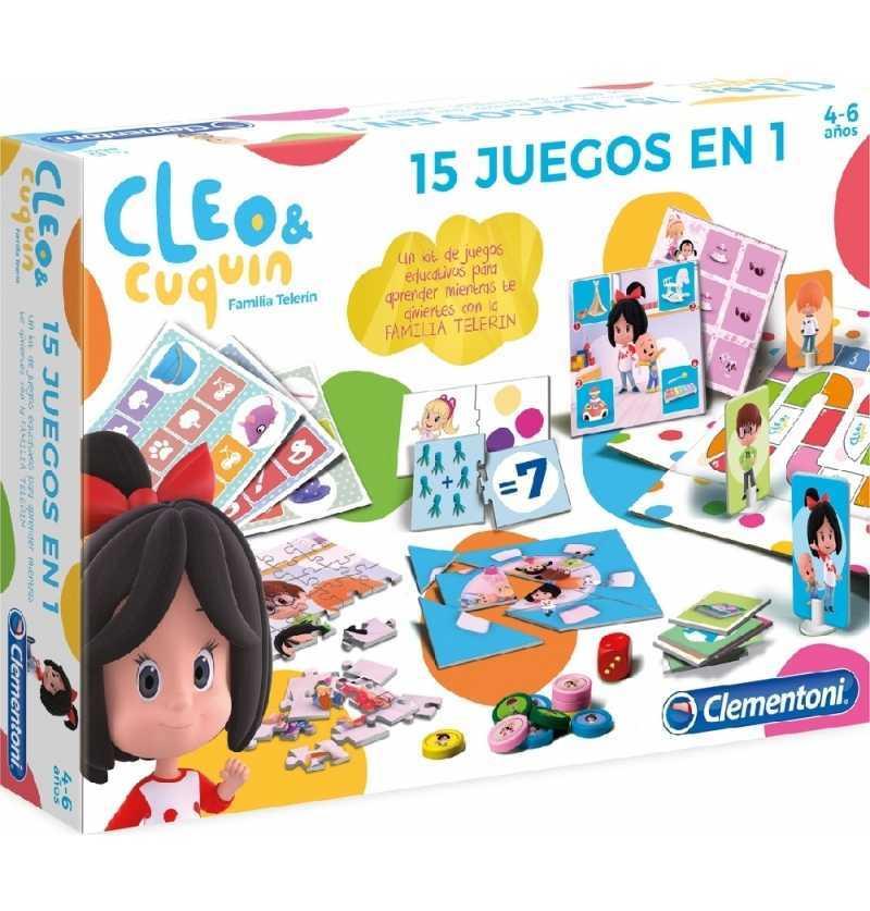 Comprar Acitvidades Infantiles kit de Juegos Cleo y Cuquín