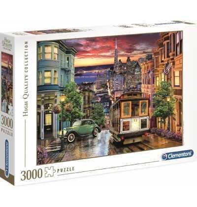 Comprar Puzzle 3000 piezas,Calles de la ciudad de San Francisco Estados Unidos