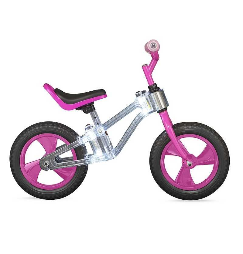 Comprar Bicicleta sin Pedales Balance Bike Rosa con Led