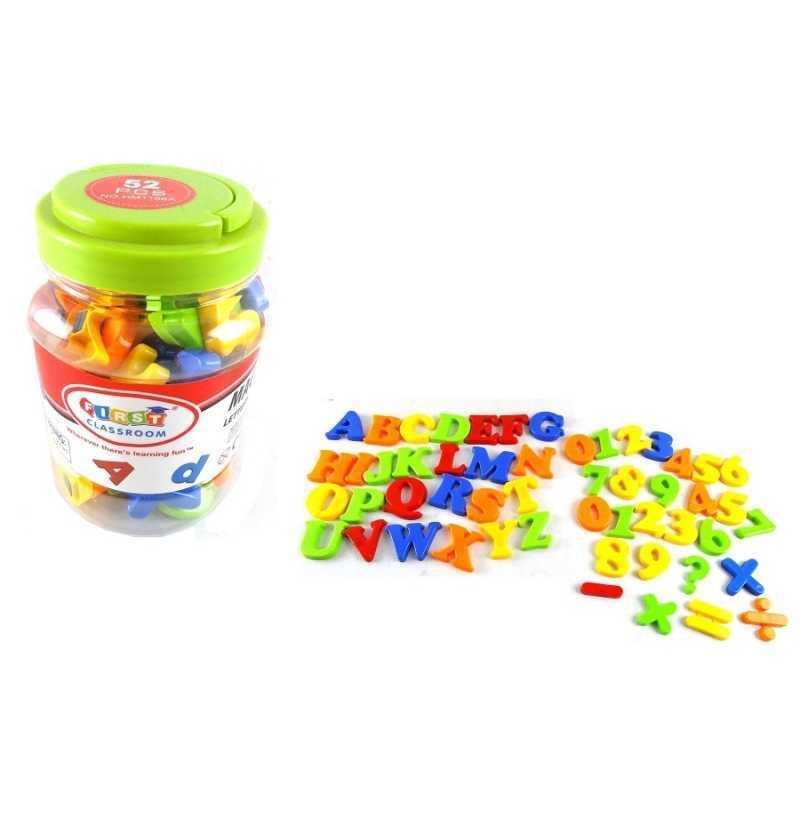 Cubo de Letras y Números Magnéticas
