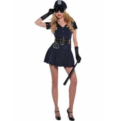Disfraz Policia Sexy Mujer S