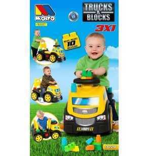 Comprar Correpasillos Camión Blocks 3 en 1 Molto