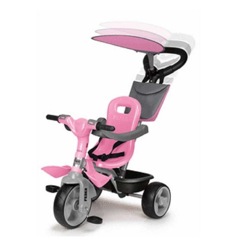 Triciclo Baby Plus Music Rosa   Feber