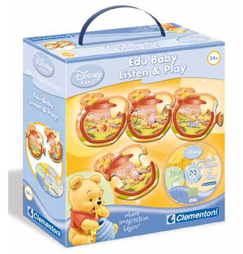 Comprar Juego Educativo Winnie Pooh Disney Edubaby CD