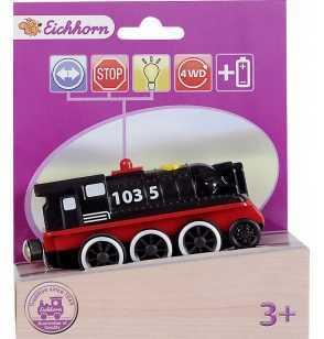 Locomotora Negra vias con Movimiento