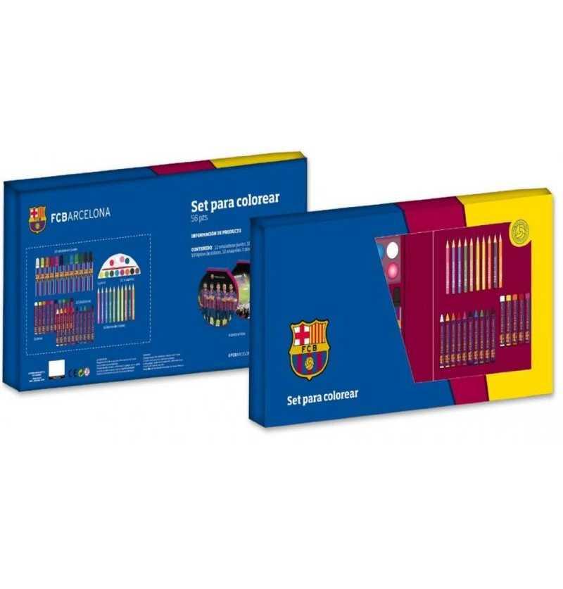 FC Barcelona  Set Colorear