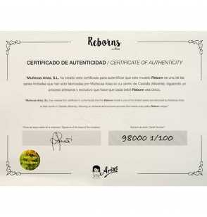 Comprar Muñeca Reborn Rocio 45 cm.