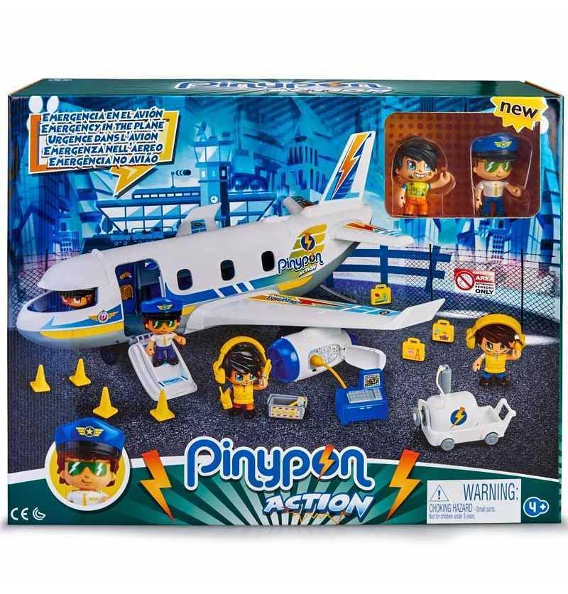 Comprar Pinypon Action Emergencia en el Avión