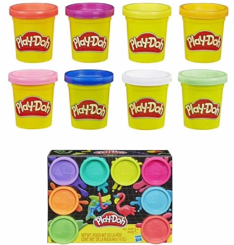Comprar Pastelina Pack 8 botes Playdoh