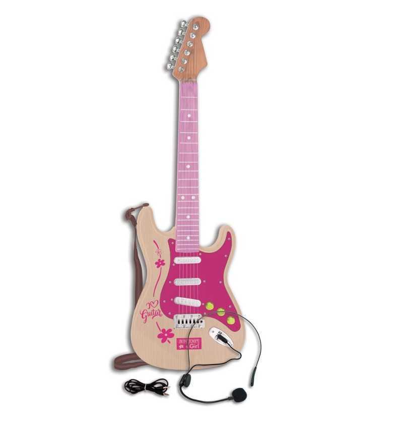 Comprar Guitarra Electrica Rock Infantil Rosa