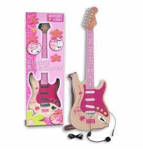 Comprar Guitarra Electrica Rock Infantil Rosa Bontempi