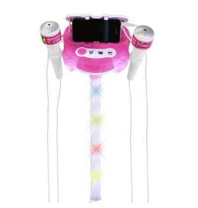 Comprar Microfono Rosa Doble con conexión Mp3