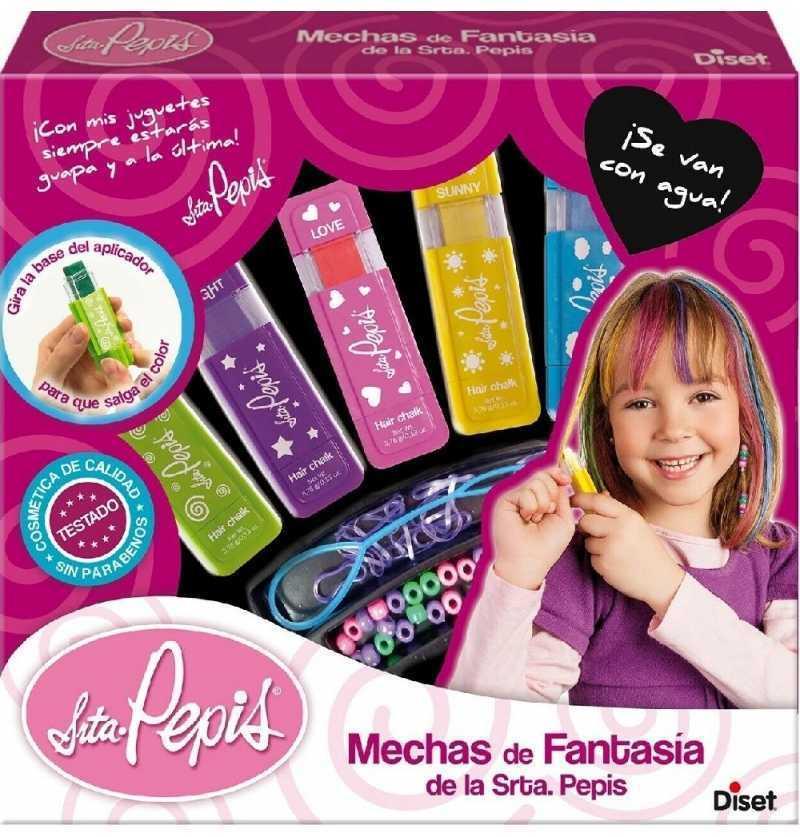 Comprar centro de Mechas de Fantasia Señorita Pepis