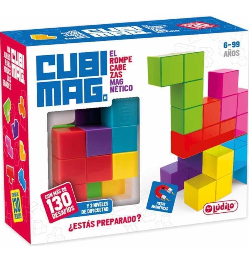 Comprar Juego de Mesa Cubimag Rompecabezas Magnético