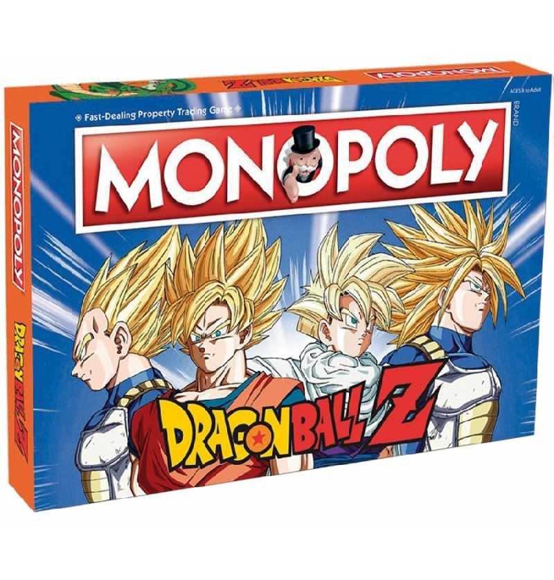 Comprar Juego de Mesa Familiar Monopoly Dragón Ball Z