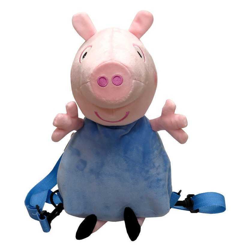 Comprar Mochila Peluche 3D George de Peppa Pig