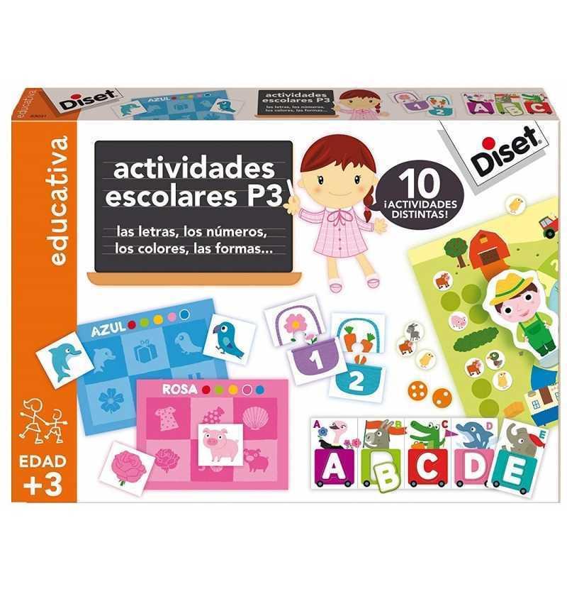 Comprar Actividades Escolares P3