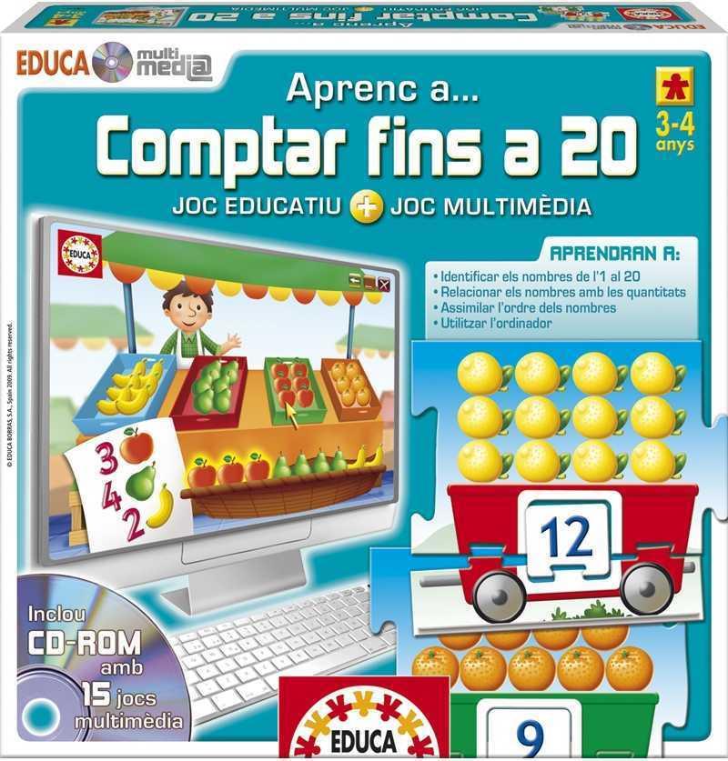 Comprar Juego Aprenc a Conta Fins a 20  en Catalan