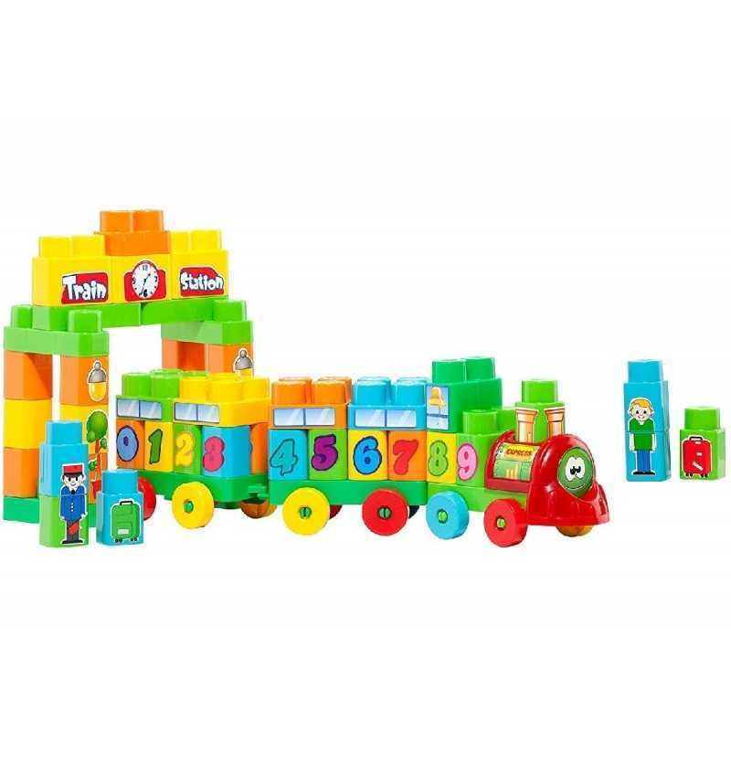 Comprar Tren blocks Construcción  Molto