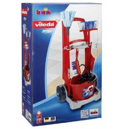 Comprar Carro de Limpieza Vileda Infantil Rojo