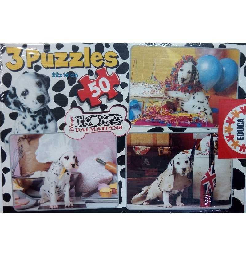 Comprar Puzzle 50 Piezas 101 Dalmatas