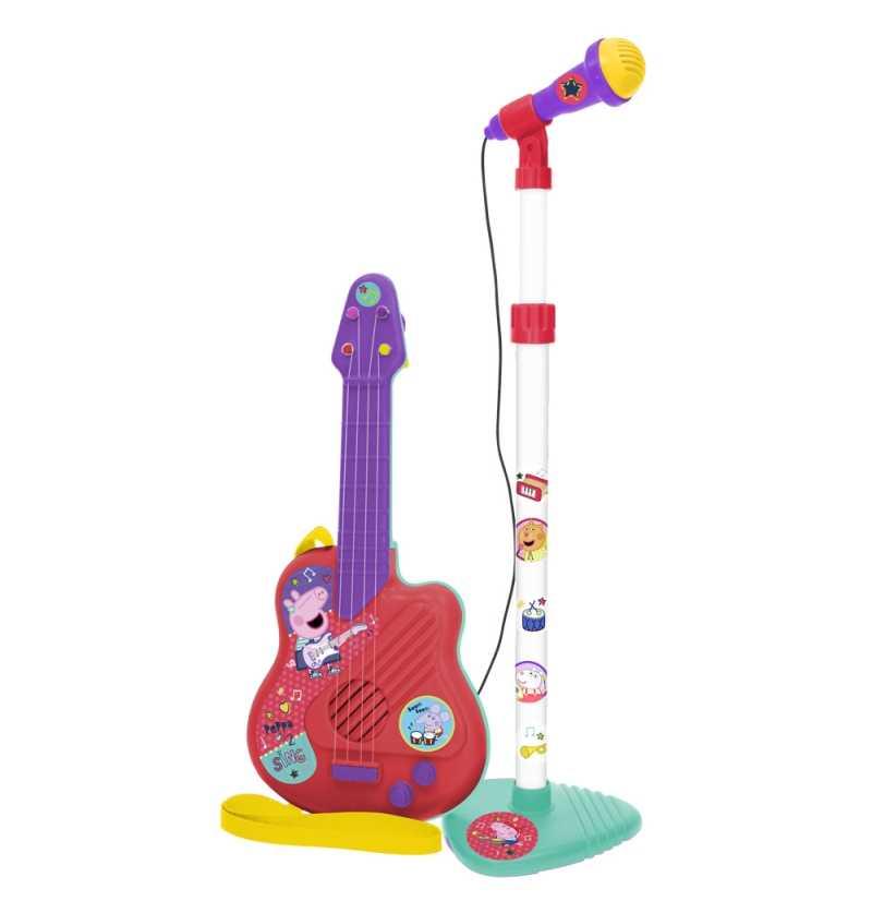 Comprar Micro y Guitarra Peppa Pig