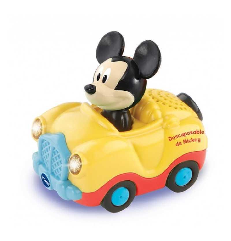 Comprar Tut Tut Bólidos Descapotable Amarillo Mickey Disney