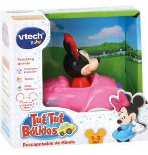 Comprar Tut Tut Bólidos descapotable Rosa de Minnie Disney