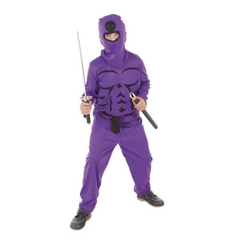 Disfraz de Ninja Lila