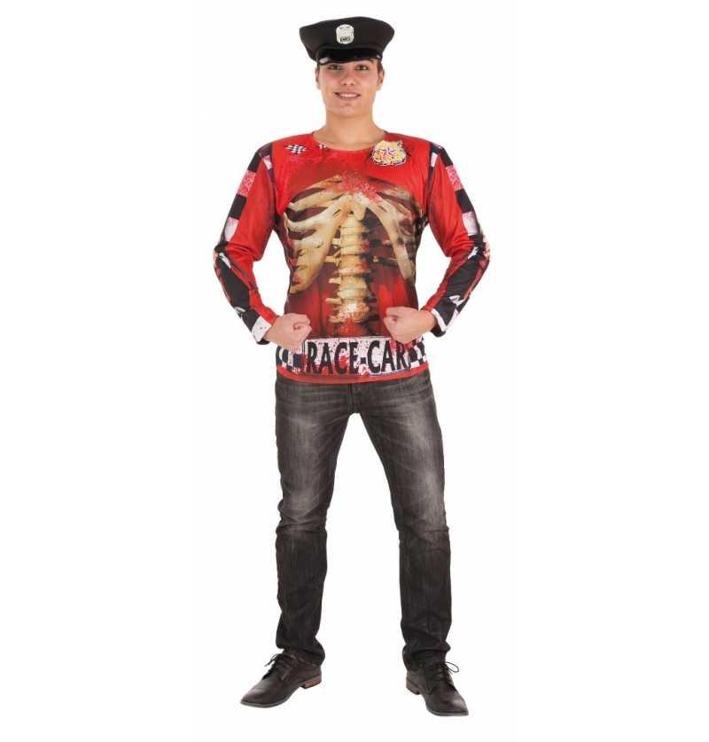 Disfraz de Camiseta Policia...