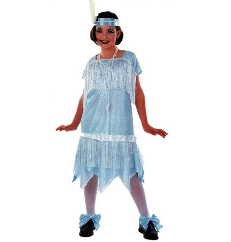 Comprar Disfraz Charleston Infantil azul