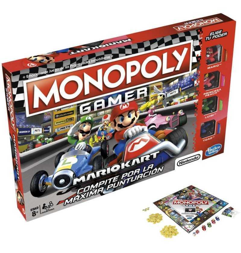 Comprar Juego Monopoly Gamer Mario Kar