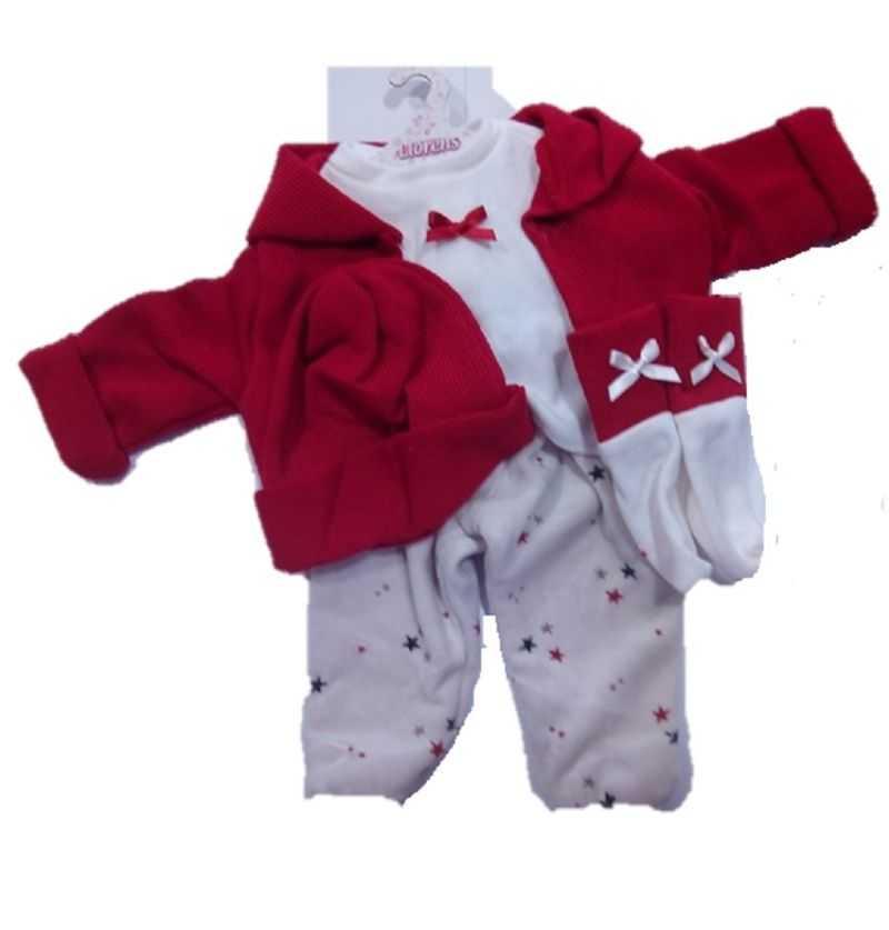 Comprar Vestido Muñeca Chaqueta Roja Reborn