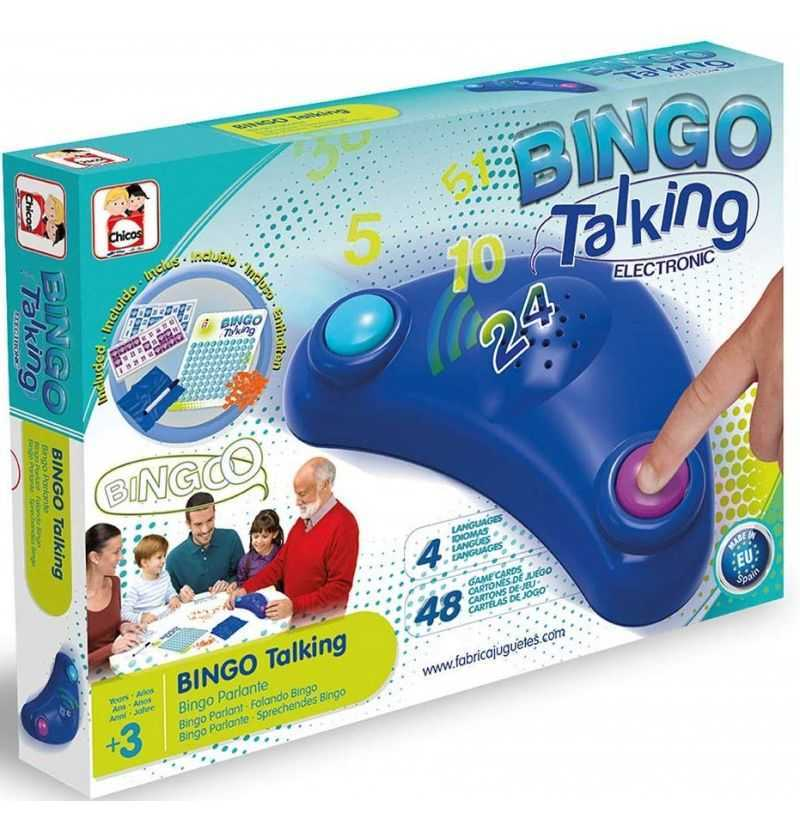 Comprar Bingo Loteria Electronica Parlante