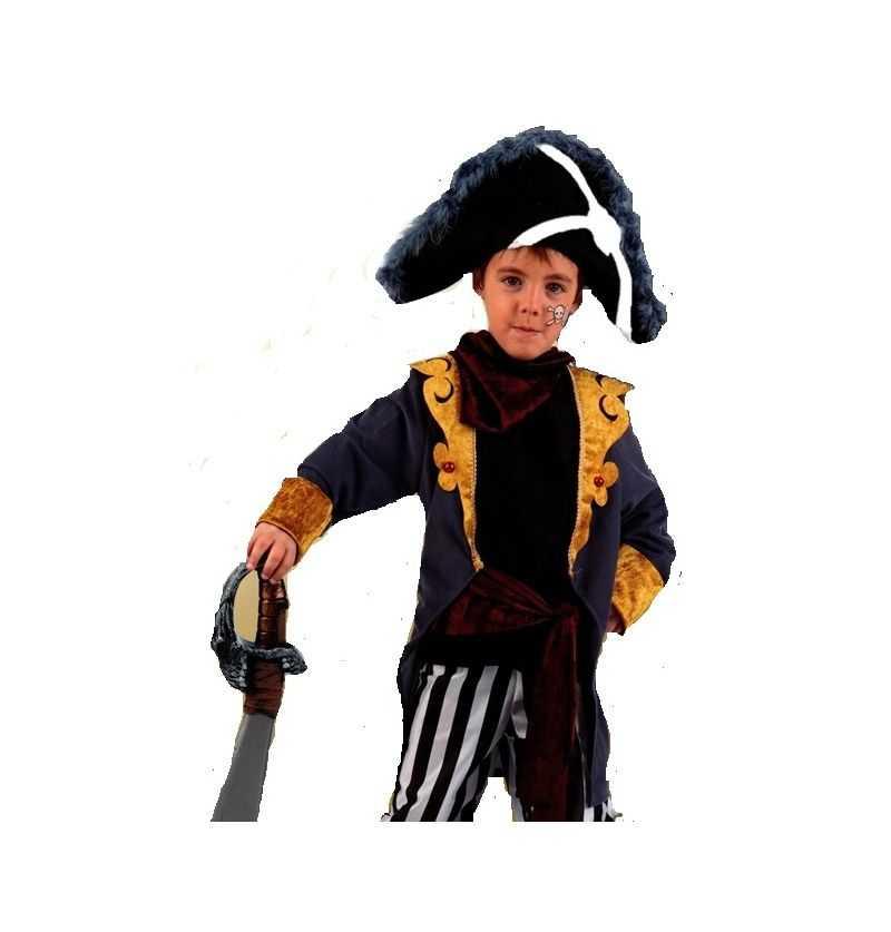 Comprar Disfraz Pirata Bucanero Niño Infantil almirante