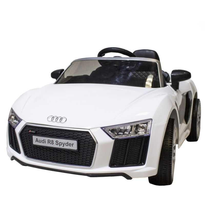 Comprar Coche Bateria Infantil Audi R8 Spider Blanco