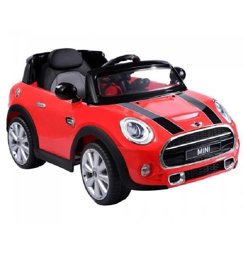 Comprar Coche Electrico Bateria Infantil Mini Cooper S Rojo