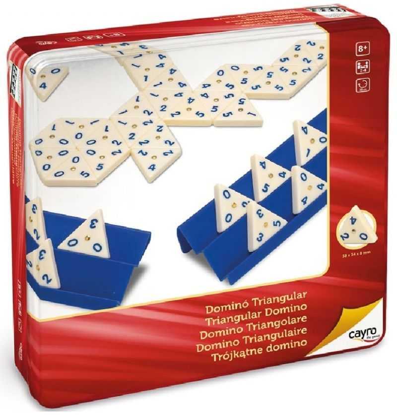 Comprar Domino Triangular Caja Metalica