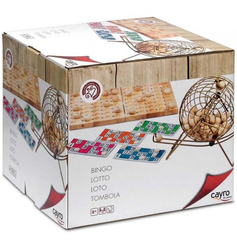 Comprar Bingo Luxe de Madera y Metalico
