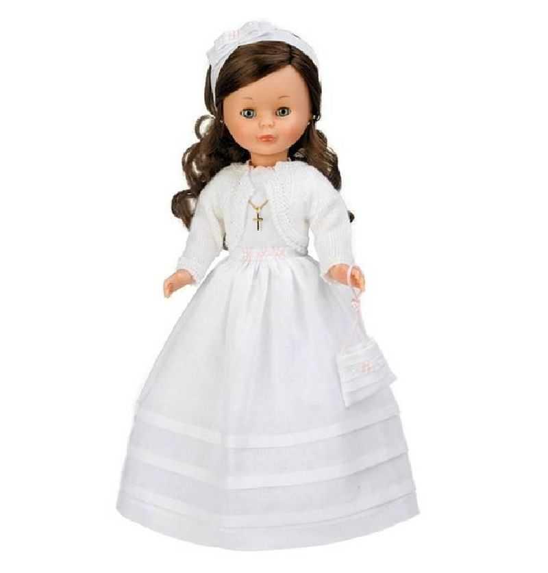 Comprar Muñeca Nancy Coleccion Comunión Morena