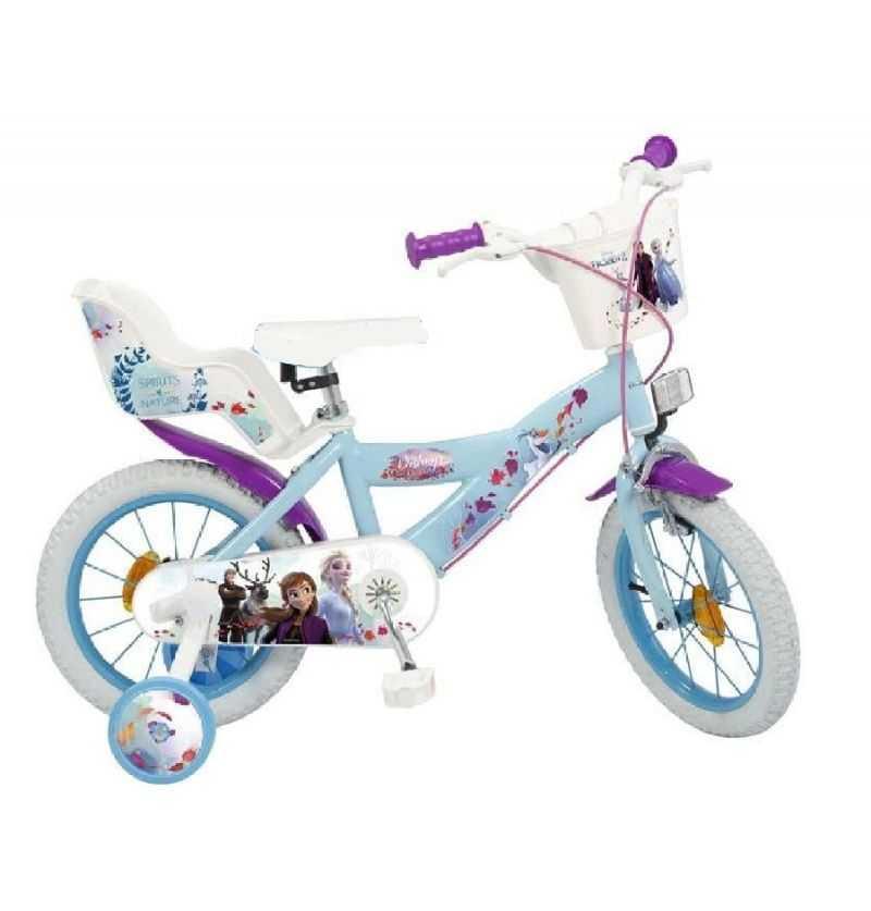 Comprar Bicicleta Infantil Azul Elsa y Anna Frozen