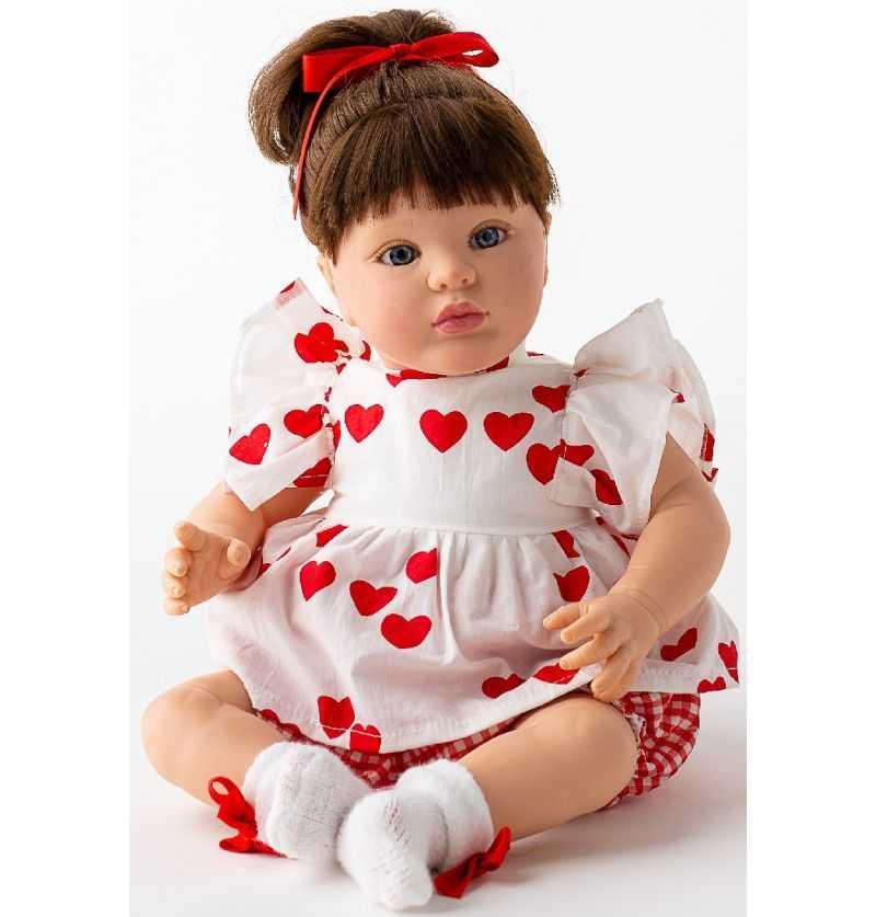 Comprar Muñeca Reborn Carmen Pelo castaño
