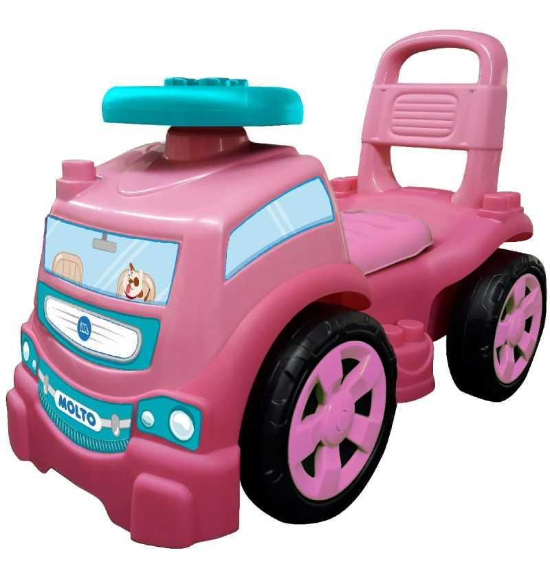 Comprar Correpasillos Camión Rosa Molto