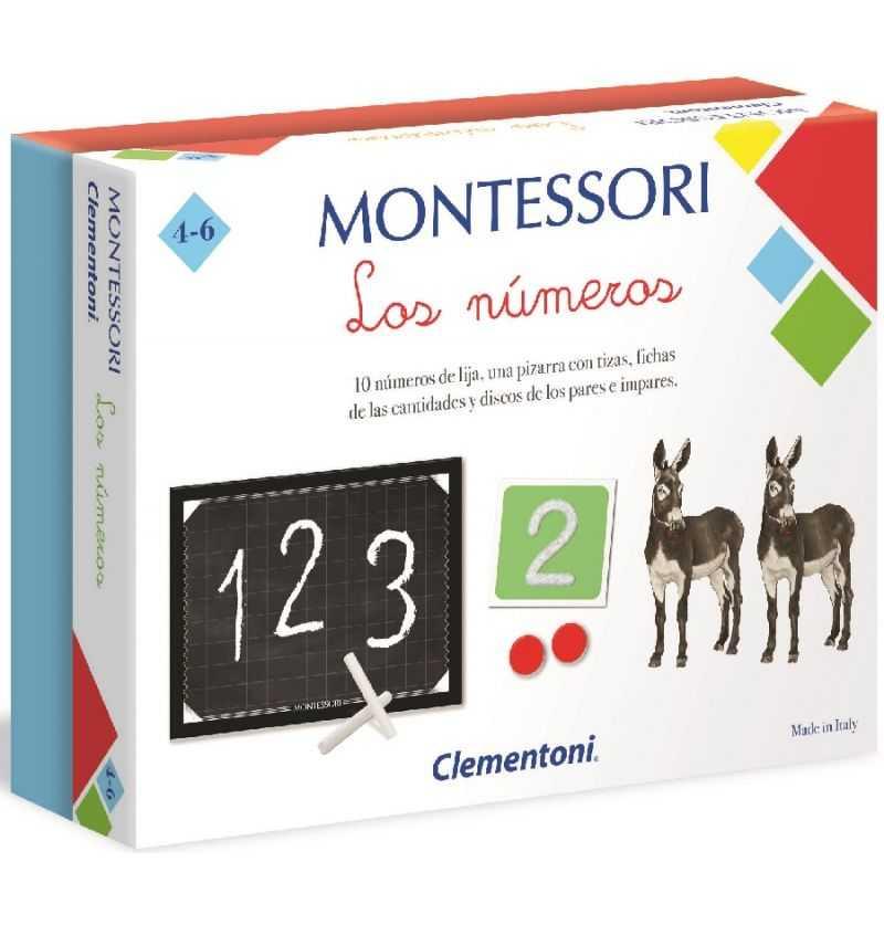 comprar juego educativo Numeros Montessori