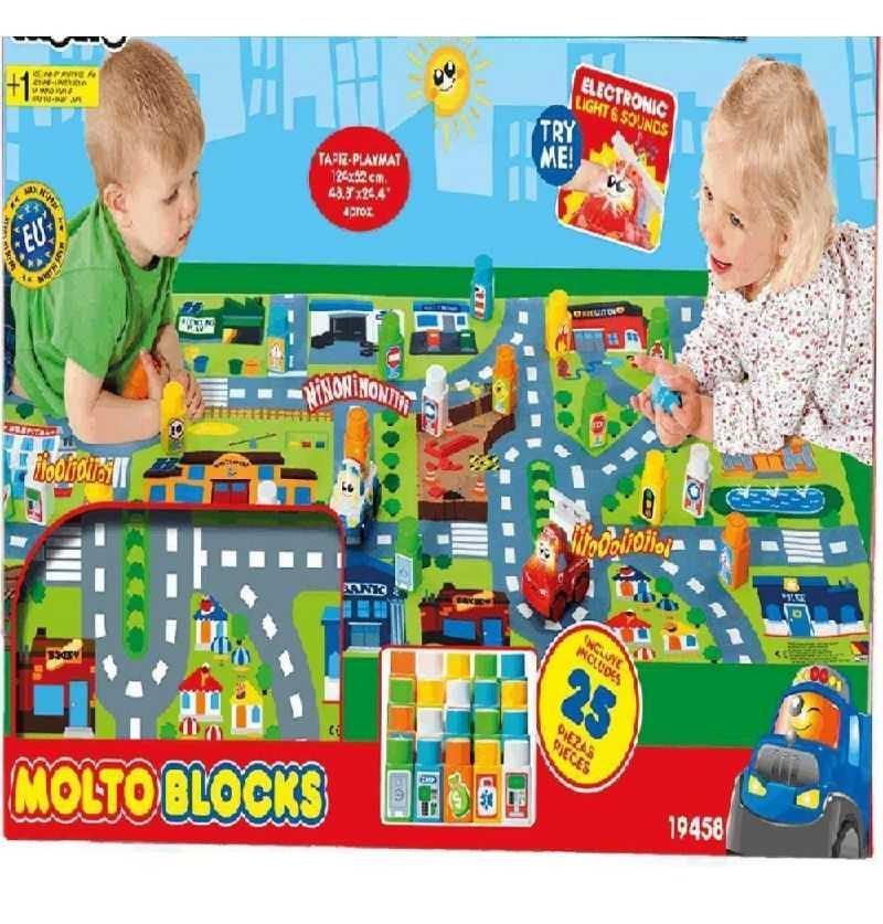 Comprar Blocks Cars con Tapiz construcción
