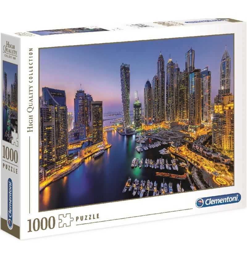 Comprar Puzzle 1000 Piezas Ciudad de Dubai Clementoni