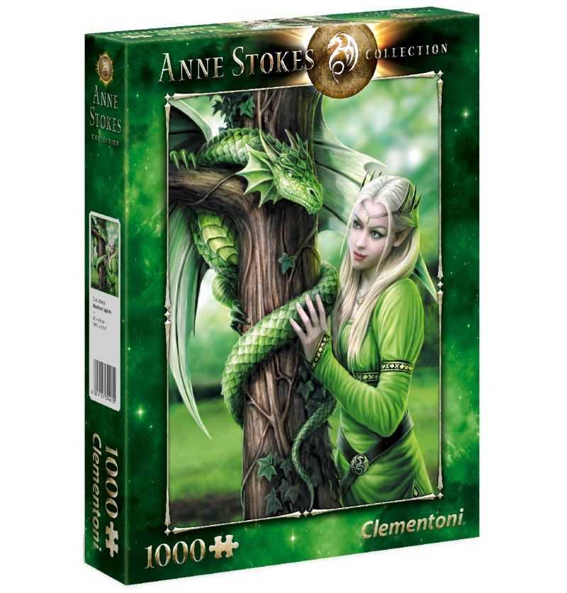 Comprar Puzzle 1000 Piezas Espiritu Afin Dragón Verde