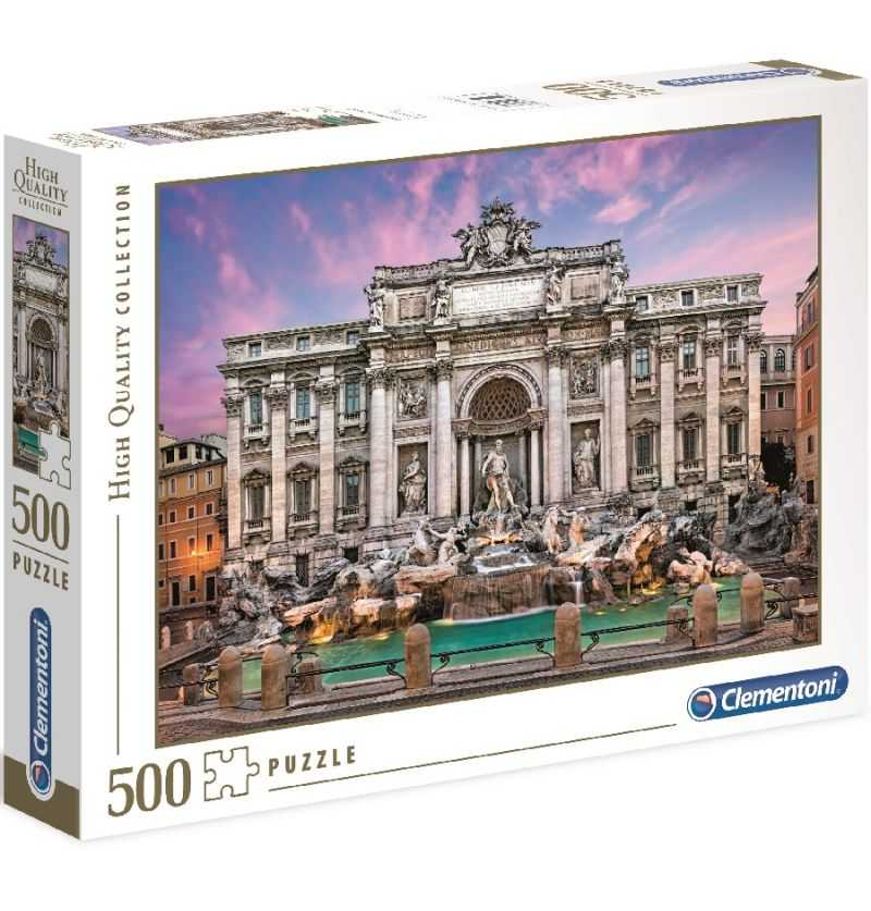 Comprar Puzzle 500 Fontana de Trevi, Italia