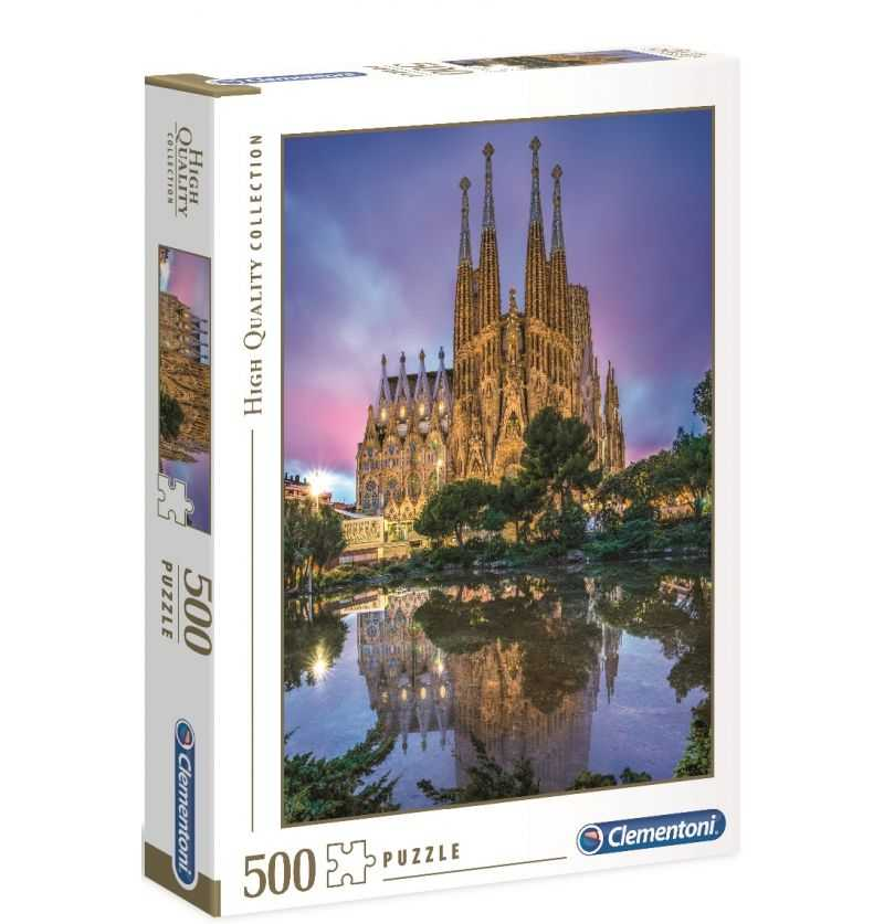 Comprar Puzzle 500 Barcelona Sagrada Familia