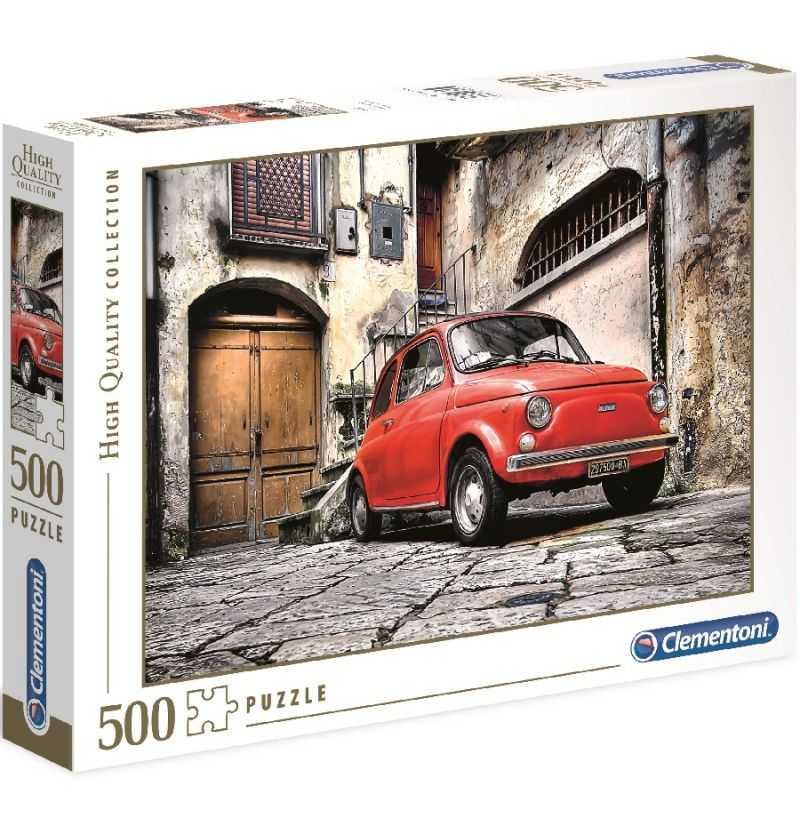 Comprar Puzzle 500 piezas Fiat Cinquencento
